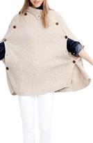 J.Crew Women's Mason Convertible Sweater Cape