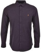 Farah Steen Shirt Purple
