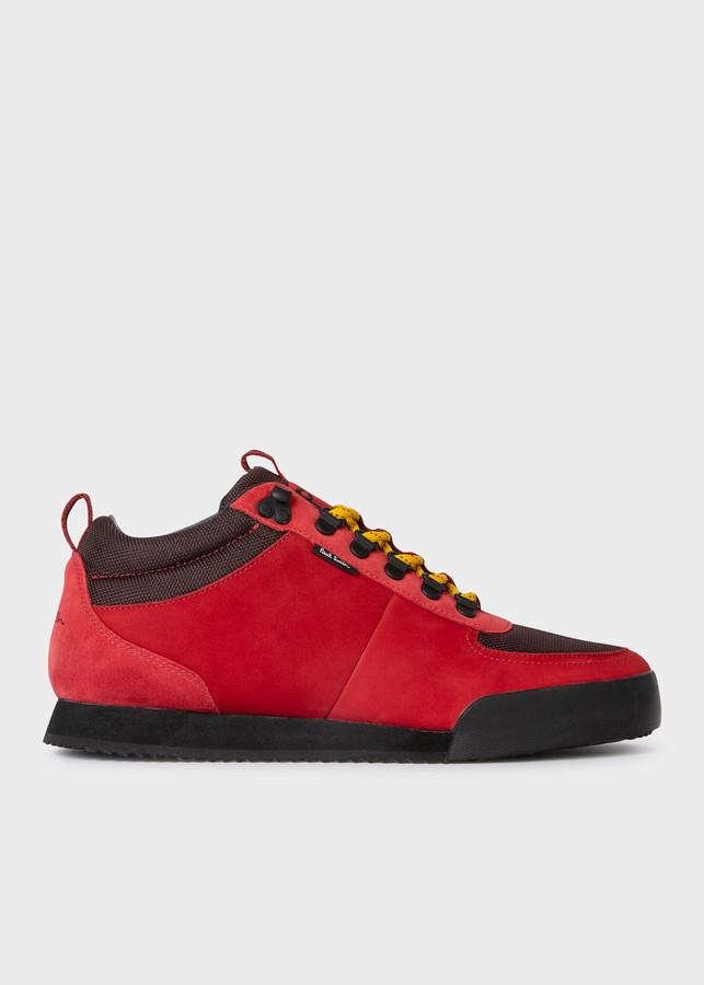 Paul Smith Men's Red 'Harlan' Sneakers