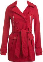 Zip Pocket Trench Coat