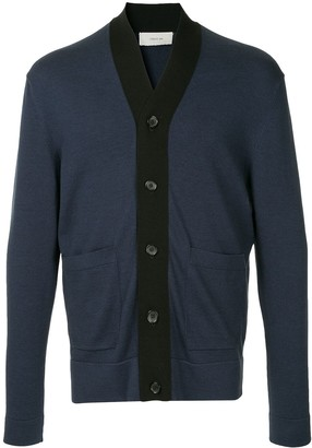 Cerruti Stripe Trim Cardigan