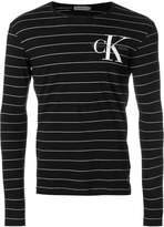 Calvin Klein Jeans striped logo sweater