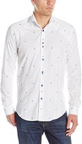 Bogosse Men's Owen 81 Long Sleeve Button Down Shrit