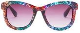 Betsey Johnson Women's Retro Sunglasses