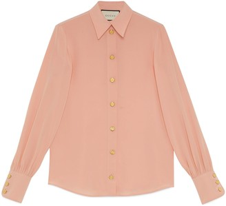 Gucci Silk crepe de chine shirt