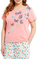 Sleep Sense Plus Butterfly Jersey Sleep Top