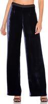 Alexander Wang Silk Velvet Wide Leg Pant