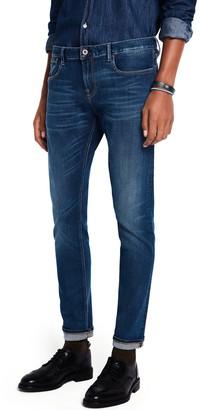 Scotch & Soda Tye Lucky Blauw Dark Slim Tapered Fit Jeans
