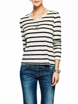 Scotch & Soda Striped Long Sleeve Top