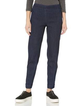 Slim Sation SLIM-SATION Women's Pull-on Solid Ankle Pant with Surrond Comfort