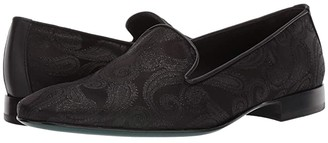 Etro Paisley Evening Loafer (Black) Men's Shoes