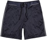 Lanvin Midnight Blue Satin Shorts