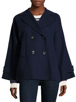 Weekend Max Mara Sassari Wool-Blend Peacoat
