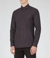 Reiss Stealth Slim-Fit Check Shirt