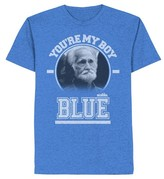 Men's Old School T-Shirt Blue
