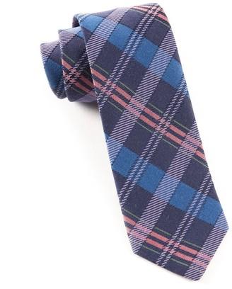 Tie Bar Totally Tartan Wool Serene Tie