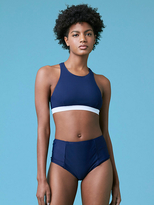Diane von Furstenberg High Neck Bikini Top