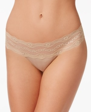 B.Tempt'd b.adorable Lace-Waistband Thong Underwear 933182