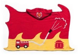 Kidorable Big Boy Fireman Towel