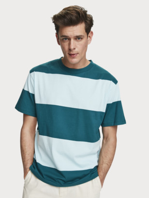 Scotch & Soda Striped Jersey T-Shirt | Men