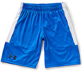 Under Armour Big Boys 8-20 Stunt Color Block Shorts