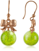 Murano Naoto Green Drop Earrings
