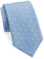 Vince Camuto Dotted Silk-Blend Tie