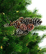 Southern Living Nostalgic Noel Collection Frosted Pinecone Cluster Pick