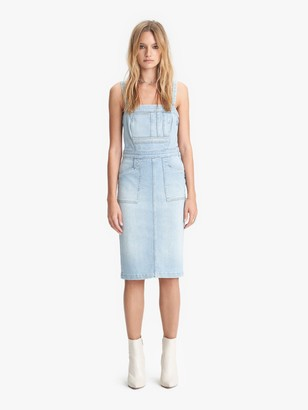 Mother The Pocket Hustler Overall Dress - When In Rome