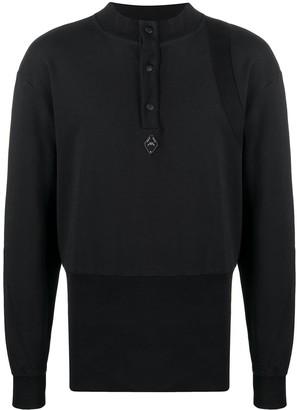 A-Cold-Wall* Henley Plain Sweatshirt