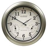 "La Crosse Technology 18"" IN/OUT Temp Clock"