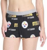 Women's Concepts Sport Pittsburgh Steelers Sweep Shorts