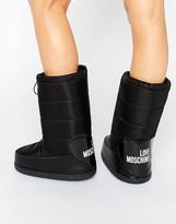 Love Moschino Black Snow Boots