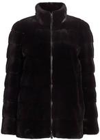 Bibhu Mohapatra For The Fur Salon Horizontally Plucked Mink Jacket