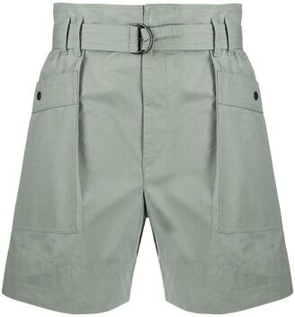 Etoile Isabel Marant Zayna belted shorts
