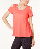 Calvin Klein Cold-Shoulder T-Shirt