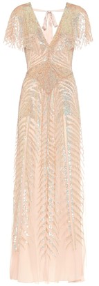 Temperley London Dusk embellished gown