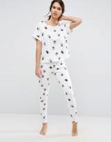 Asos Beetle Tee & Legging Pajama Set