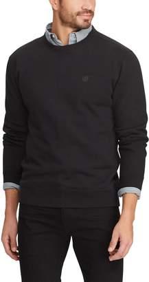 Chaps Men's Classic-Fit Solid Crewneck Fleece Pullover
