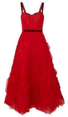 Marchesa 3/4 length dress