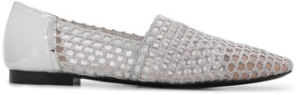 Emporio Armani Perforated Loafers