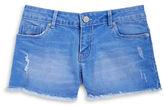 Calvin Klein Jeans Girls 2-6x Girls Cutoff Jean Shorts