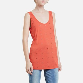 Kenneth Cole Scoop Neck Rings Tank
