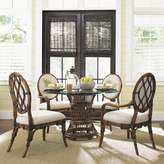 """Tommy Bahama Home Bali Hai 5 Piece Dining Set Home Size: 29"""" H x 21.5"""" W x 21.5"""" D"""