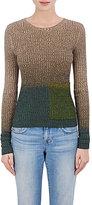 Acne Studios Women's Dégredé Rib-Knit Sweater-GREEN