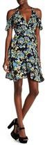 Solemio Sole Mio Floral Print Wrap Dress
