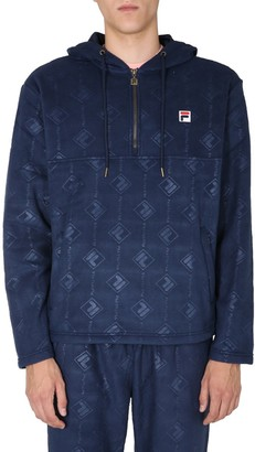 Fila Hastin Half Zip Hooded Sweatshirt
