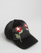 Diesel Cavveo Baseball Cap In Black