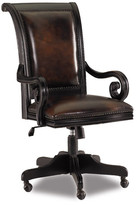 Hooker Furniture Telluride Leather Bankers Chair