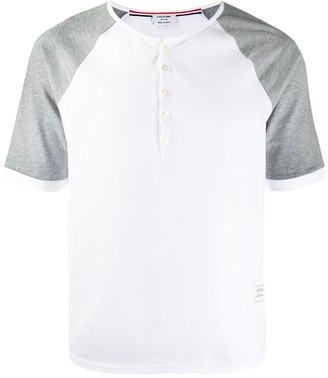 Thom Browne Henley Ringer Tee